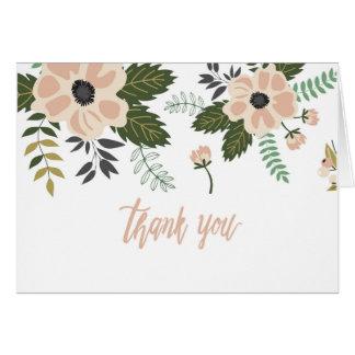 Gratitude + Flowers Card