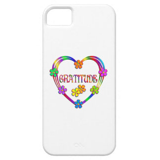 Gratitude Heart Colorful iPhone SE/5/5s Case