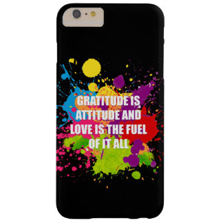 Gratitude - iPhone 6/6s Plus, Barely There Barely There iPhone 6 Plus Case