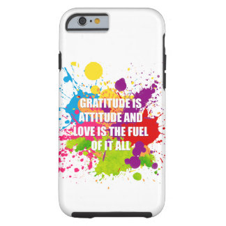 Gratitude - iPhone 6/6s, Tough Tough iPhone 6 Case