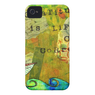 Gratitude is Life's Course Correction iPhone 4 Case-Mate Cases
