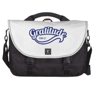 Gratitude Laptop Commuter Bag