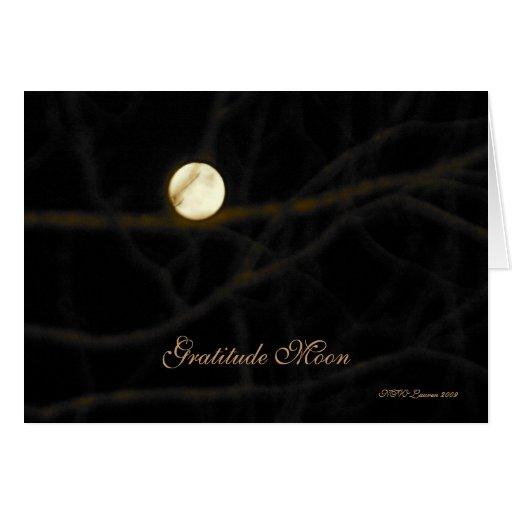 Gratitude Moon Card