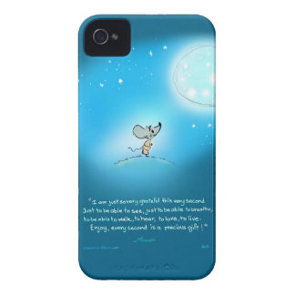 Gratitude mouse I phone Cover iPhone 4 Case