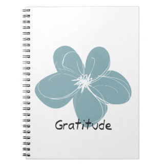 Gratitude Spiral Notebooks