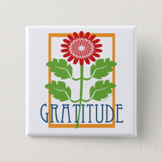 Gratitude Pinback Button