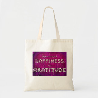 Gratitude Quote for Positive Thinking Tote Bag