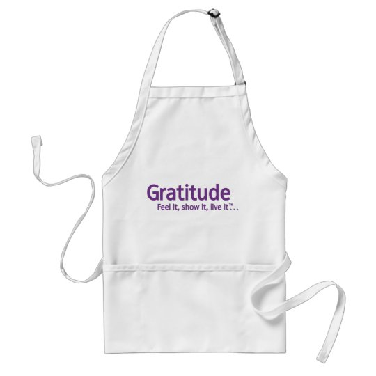 Gratitude - Thought Shapers™ Adult Apron