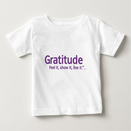 Gratitude - Thought Shapers™ Baby T-Shirt