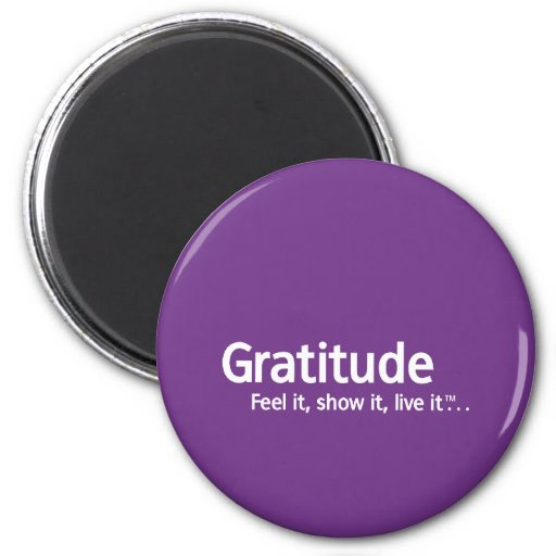 Gratitude - Thought Shapers™ Magnet