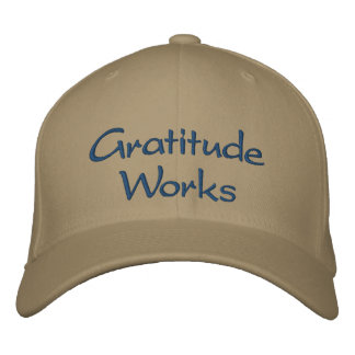 Gratitude Works, Pay it Forward Hat Embroidered Baseball Caps