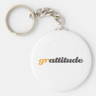 grattitude llavero personalizado