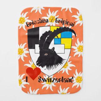 Graubünden Grischun Grigioni Spucktuch
