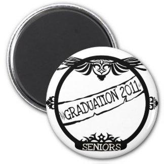 Graudation 2011 2 inch round magnet