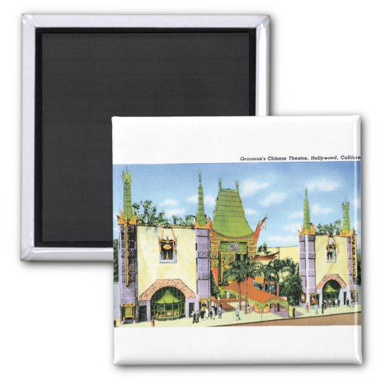 Graumans Chinese Theater Magnet