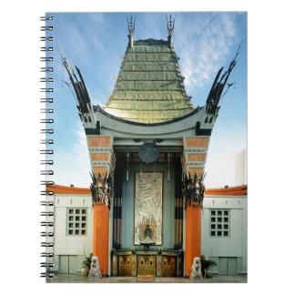 Grauman's Chinese Theatre Spiral Notebook