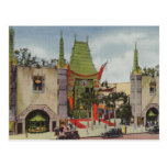 Grauman's Theater Wedding Escort Card Postcard