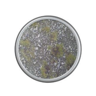 Grava e hierba altavoz