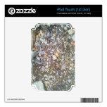 grava y piedra iPod touch calcomanía