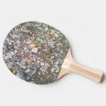 grava y piedra pala de tenis de mesa