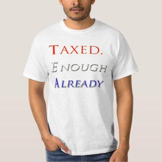 Gravado bastantes ya camiseta de la fiesta del té