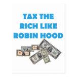 Grave a los ricos como Robin Hood - ocupe Wall Str Postal