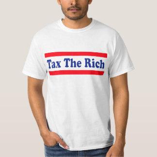 ¡Grave a los ricos! Playera