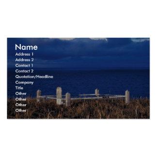 Grave at Izembek Lagoon Business Card