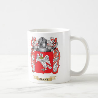 Grave Coat of Arms (Family Crest) Classic White Coffee Mug