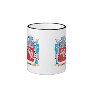 Grave Coat of Arms - Family Crest Ringer Coffee Mug