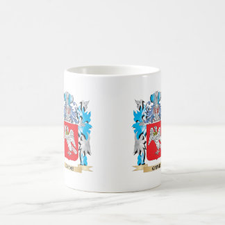 Grave Coat of Arms - Family Crest Classic White Coffee Mug