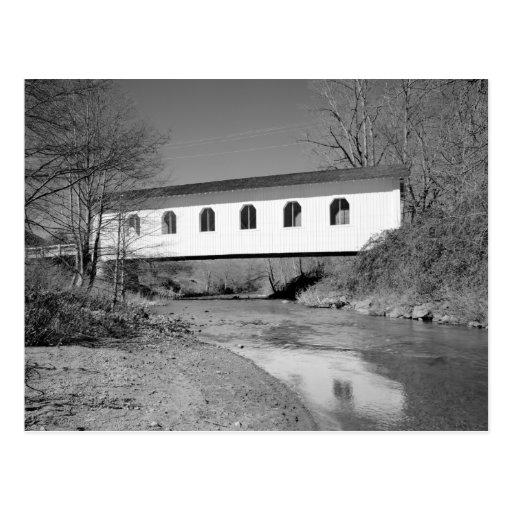 Grave Creek Bridge Postcard