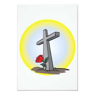 Grave Cross Invitations