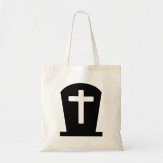 Grave cross tote bag