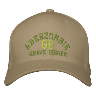 Grave Digger A Embroidered Baseball Cap