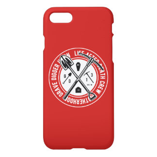 Grave Digger Glossy Phone Case