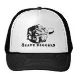 grave diggers logo mesh hats