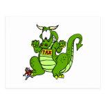 Grave el dragón postal
