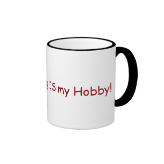 Grave Hunting IS my Hobby! for genealogists Ringer Mug