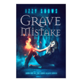 Grave Mistake Poster Photo Print