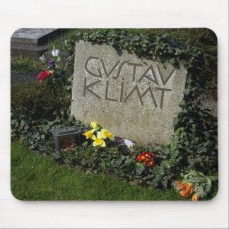 Grave Of Gustav Klimt Mouse Pad