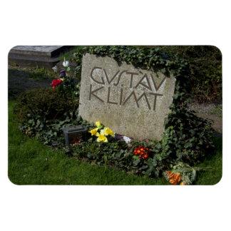 Grave Of Gustav Klimt Rectangle Magnets
