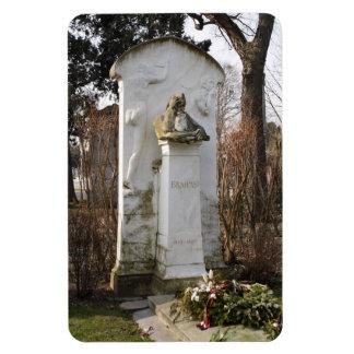 Grave Of Johannes Brahms Rectangular Photo Magnet