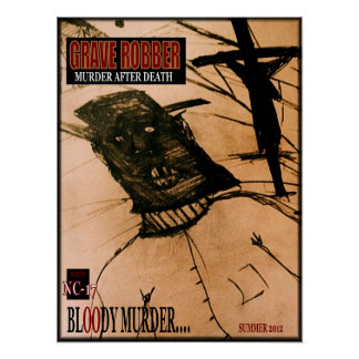 Grave Robber FLYER Poster