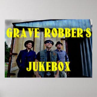 Grave Robber's Jukebox Poster