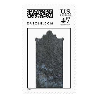 Grave Stone Halloween Postage Stamp