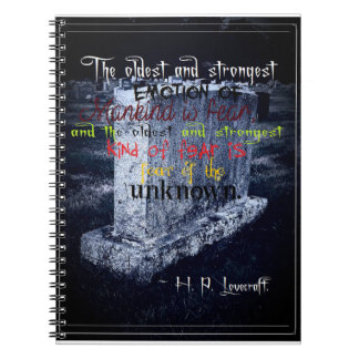 Grave Themed Photo Notebook (80 Pages B&W)