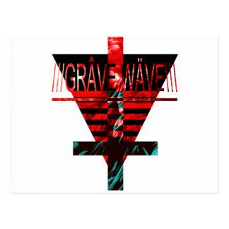 gRAVE.wAVE Postcard