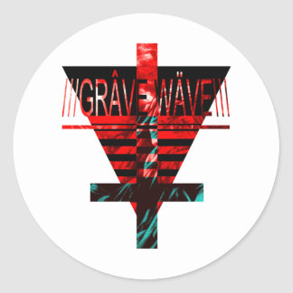gRAVE.wAVE Stickers