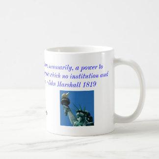 Grave y destruya la taza